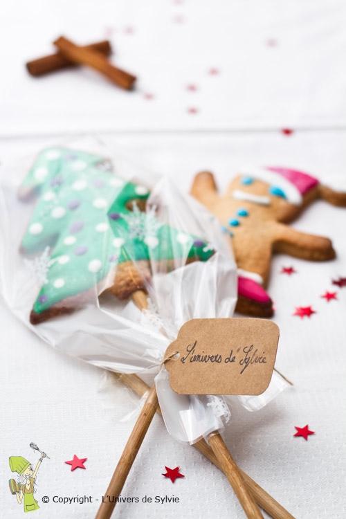 Cadeau gourmand biscuits de Noël