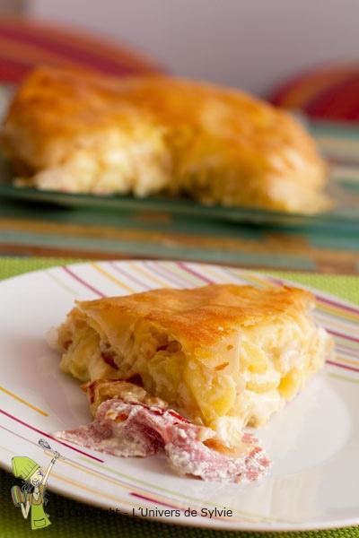 Pastilla raclette