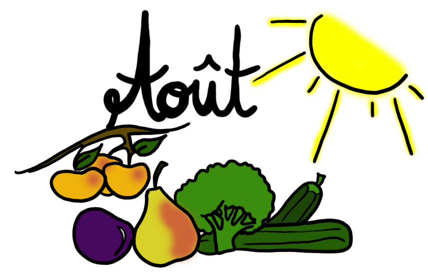 Fruits et Lgumes du mois d'aout