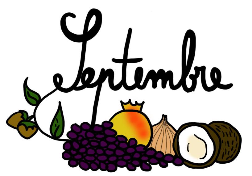 Fruits et Légumes du mois de Septembre