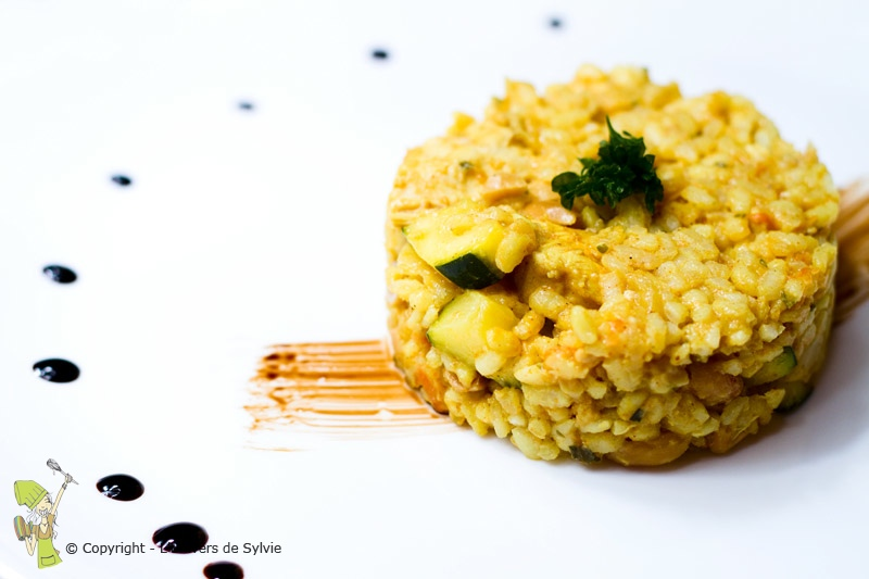 Risotto de dinde au curry