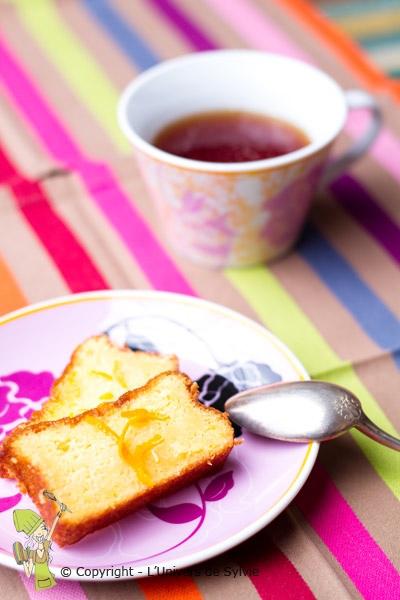 Gâteau aux clémentines