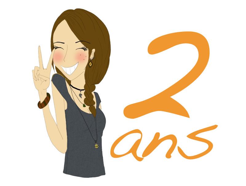 2 ans Blog