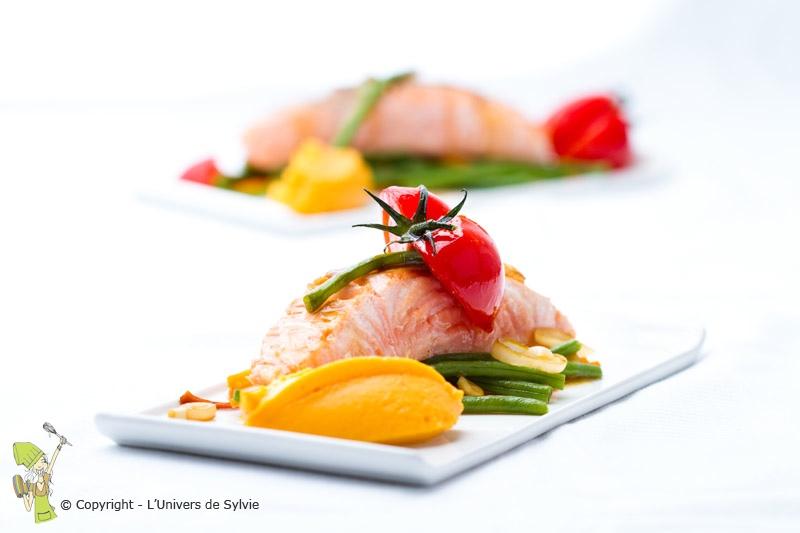 Saumon au saké