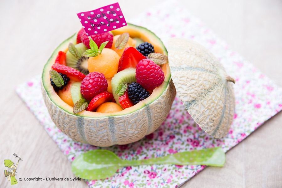 Salade de fruits au melon