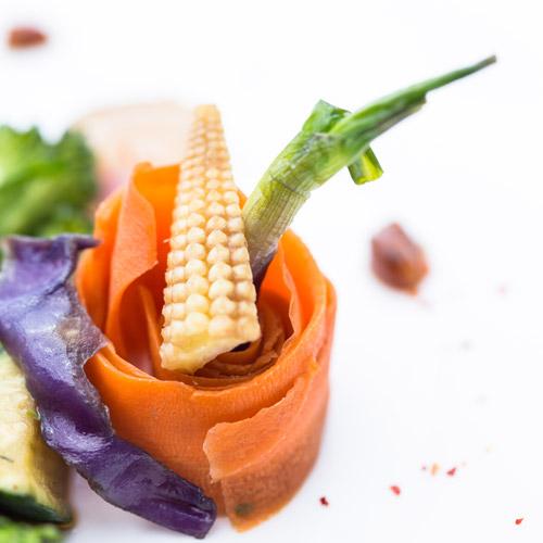 Rougets et son wok de légumes