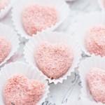 Bouchées au biscuit rose de Reims