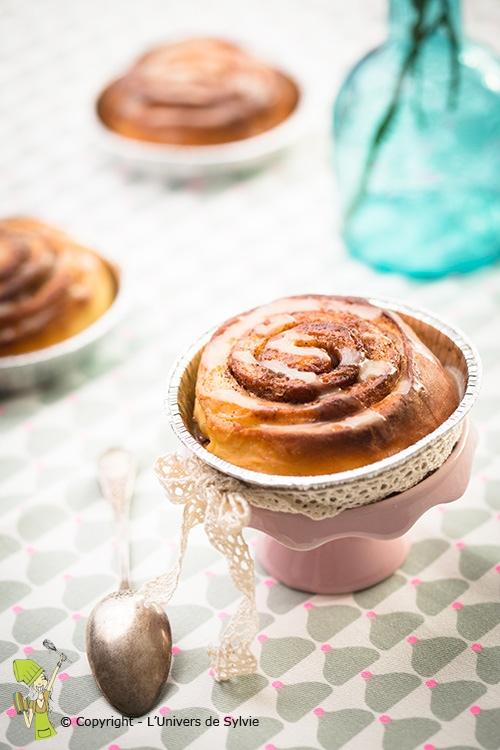 Cinnamon roll - Brioches à la cannelle
