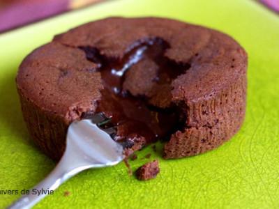 Fondant coeur coulant au chocolat