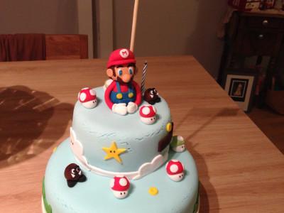 Gâteau Mario