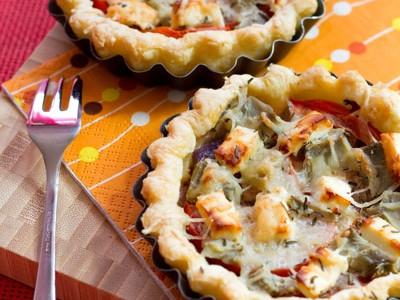 Tartelettes à l'artichaut