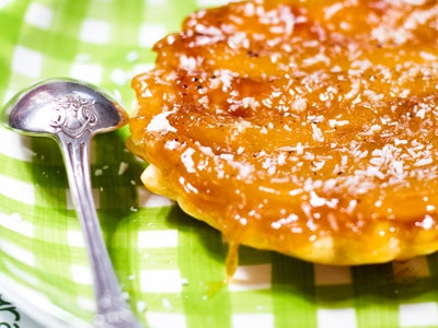 Tarte tatin  la mangue