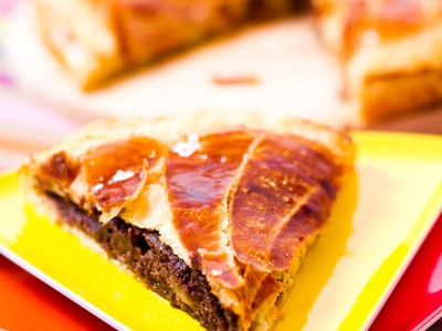 Galette des rois poire-chocolat