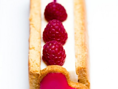Tarte vanille – fruits rouges