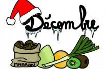 Fruits et Légumes du mois de Décembre