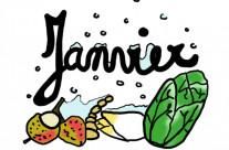 Fruits et Légumes du mois de Janvier