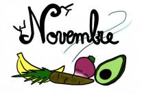 Fruits et Légumes du mois de Novembre